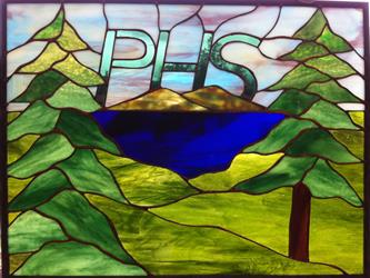 PHS stained glass logo